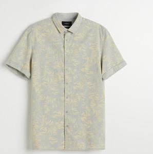 Koszula Reserved z bawełny z krótkim rękawem