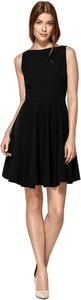 Czarna sukienka Colett bez rękawów