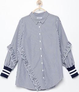 Granatowa koszula dziecięca Reserved
