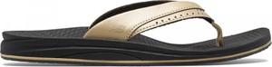 Klapki New Balance w stylu casual z płaską podeszwą