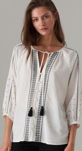 Bluzka Mohito z długim rękawem w stylu etno