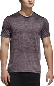 T-shirt Adidas z krótkim rękawem z żakardu
