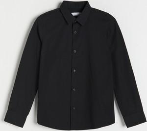 Czarna koszula dziecięca Reserved