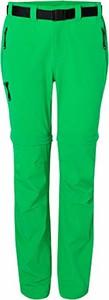 Zielone spodnie amazon.de w militarnym stylu