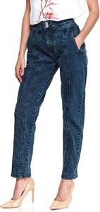 Jeansy Top Secret z tkaniny w stylu casual