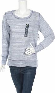 Niebieska bluzka Xersion z długim rękawem z okrągłym dekoltem