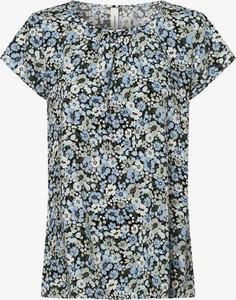 Niebieska bluzka Soyaconcept z okrągłym dekoltem