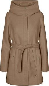 Brązowy płaszcz Vero Moda