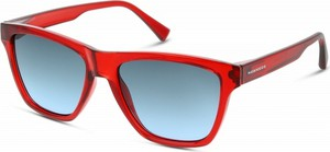 Czerwone okulary damskie Hawkers