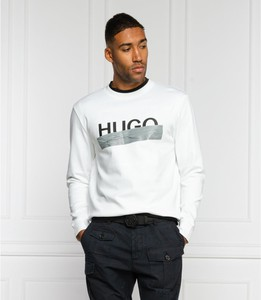 Bluza Hugo Boss w młodzieżowym stylu z bawełny