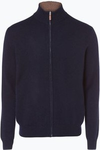 Granatowy sweter Andrew James