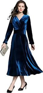 Granatowa sukienka Ababalaya