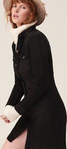 Sukienka Reserved mini z jeansu z długim rękawem