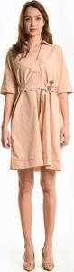 Sukienka Gate z długim rękawem w stylu casual mini
