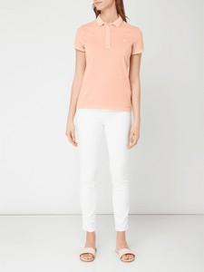 Bluzka Gant z bawełny z krótkim rękawem w stylu casual
