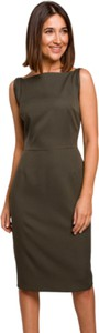 Sukienka Style w stylu klasycznym z tkaniny
