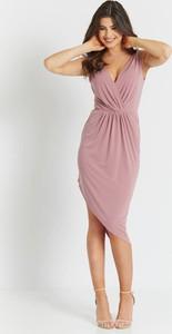 Sukienka Ivon z dekoltem w kształcie litery v