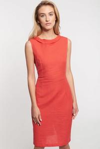 Czerwona sukienka QUIOSQUE na ramiączkach