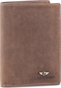 Brązowy portfel męski Peterson