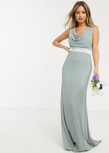 Sukienka Tfnc maxi bez rękawów