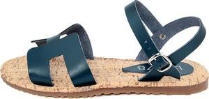 Sandały Lab78 w stylu casual ze skóry
