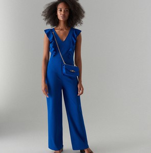 Niebieski kombinezon Mohito z długimi nogawkami