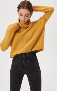 Żółty sweter Sinsay