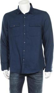 Niebieska koszula F&F z klasycznym kołnierzykiem