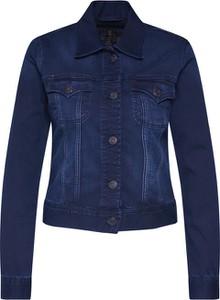 Niebieska kurtka Herrlicher z jeansu w stylu casual krótka