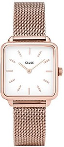 Zegarek CLUSE La Tétragone Rose Gold White/Rose Gold CL60003 ( CW0101207001 )