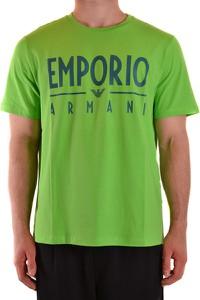 Zielony t-shirt Emporio Armani