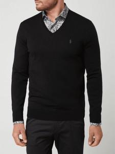 Czarny sweter POLO RALPH LAUREN z wełny
