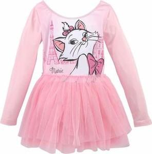 Różowa sukienka dziewczęca disney