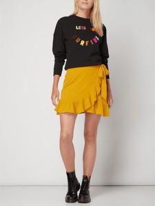 Żółta spódnica Review z bawełny mini