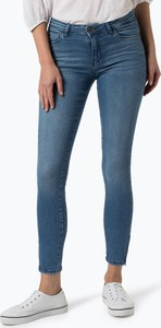 Niebieskie jeansy Noisy May w młodzieżowym stylu