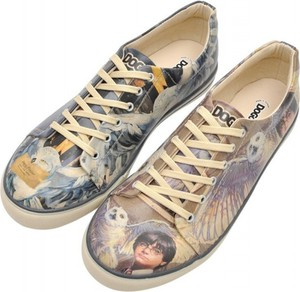 Dogo Harry and Hedwig Harry Potter WB Men Sneakers Trampki