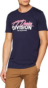 Granatowy t-shirt Tom Tailor Denim