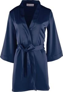 Niebieski szlafrok Bohomoss - Luxurious Design