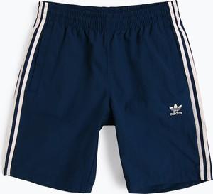 Niebieskie spodenki Adidas Originals