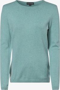 Niebieski sweter Franco Callegari w stylu casual
