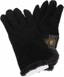 Czarne rękawiczki Isotoner