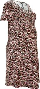 Bluzka bonprix RAINBOW z dekoltem w kształcie litery v w stylu casual