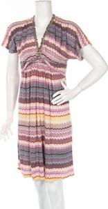 Sukienka Ekta z krótkim rękawem w stylu casual