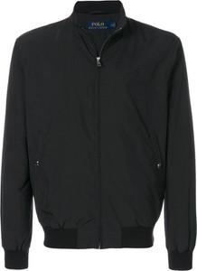 Czarna kurtka Ralph Lauren w stylu casual