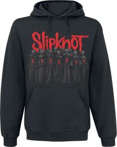 Czarna bluza Slipknot z bawełny