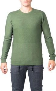 Zielony sweter Hydra Clothing w stylu casual z wełny