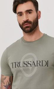 T-shirt Trussardi Jeans z bawełny