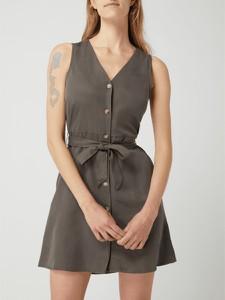 Brązowa sukienka Vero Moda