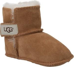 Buty dziecięce zimowe UGG Australia na rzepy