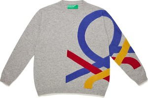 Sweter United Colors Of Benetton z wełny